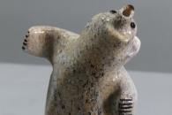 Singing bear by Claudia Peina
