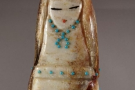 Old Zuni Woman by Claudia Peina