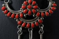 Choker set with earrings by Besselente/Leekity Zuni (view 2)