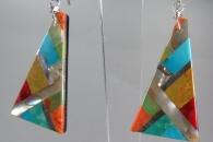 Mosaic Earrings by Simon Coriz