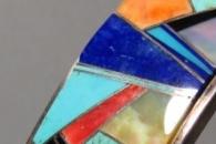 Mosaic Cuff Bracelet - artist unknown