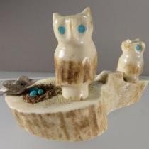 Owl scene by Marvelita Phillips