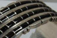 Jet Cuff Bracelet by Sheldon Lalio
