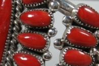 Coral Cluster Bracelet by Lorraine Waatsa