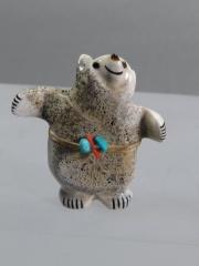 Hugging bear by Claudia Peina
