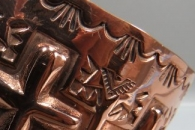 Copper Cuff by Dakota Wille
