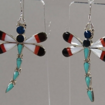 Dangle Earrings by Angus Ahiyite