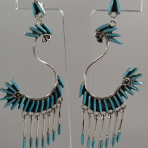 Post Earrings by Jeannie Lastiyani