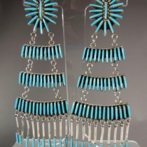 Dangle Earrings by Jeannie Lastiyano