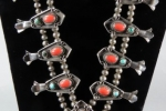 Squash Blossom Necklace - Navajo (view 1)