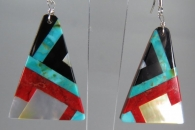 Mosaic Earrings by Tanner Medina