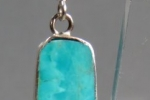 Wrapped Slab Earrings by Nestoria Coriz