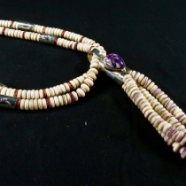 Necklace by Nestoria Coriz (top view)