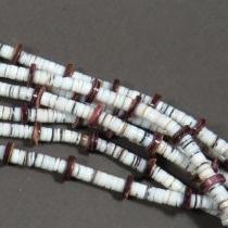 Wampum Shell Necklace by Nestoria Coriz
