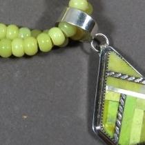 Vietnamese Fluorite Necklace with pendant by Nestoria Coriz