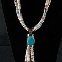 Ceremonial Necklace by Nestoria Coriz (front view)