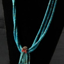 Vintage Pawn Kewa Necklace (front view)
