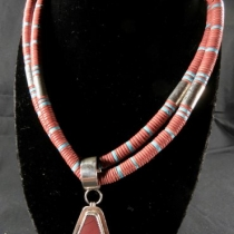 Necklace by Nestoria Coriz (front view)