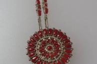 Pin/pendant with chain by Lorraine Waatsa