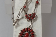 Necklace set by Lorraine Waatsa