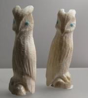 Owls by Willard Laate (in memoriam) & Maxx Laate