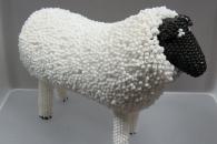 Beaded Ewe Doll by Ronda Dosedo