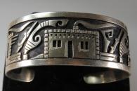 Cuff Bracelet by Hopi Jeweler