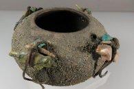 Zuni Fetish Bowl by Edna Leki  (1950s-60s)