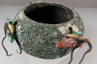 Zuni Fetish Bowl by Edna Leki  (1960s-70s)