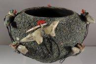 Zuni Fetish Bowl by Edna Leki  (1950s-60s) (view 2)