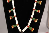 Depression-Era Necklace by Unknown Santo Domingo