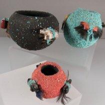 Zuni Fetish Bowls by Marvelita Phillips