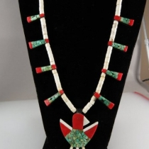 Depression-Era Necklace by Unknown Santo Domingo