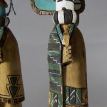 Longhorn Group Kachina set (detail)