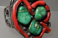 Ornate Cuff Bracelet - artist unknown