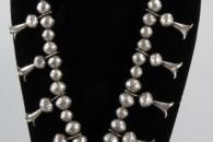 Squash Blossom Necklace - artist unknown