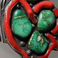 Ornate Cuff Bracelet - artist unknown