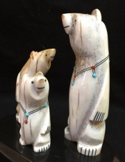 """Zuni Family Bears"" by Troy Sice (view 3)"