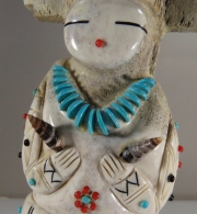 Tablita Maiden by Claudia Peina (detail)