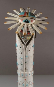 Sun Face Maiden by Troy Sice (detail view)