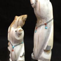 """Zuni Family Bears"" by Troy Sice (view 3)"
