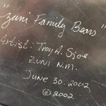 """Zuni Family Bears"" by Troy Sice (view 4)"