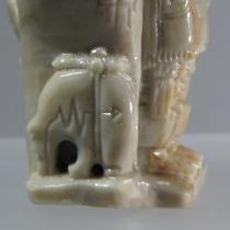 Pueblo Scene (detail) by Florentino Martinez