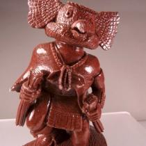Owl Kachina by Milton Honowa