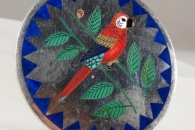 Parrot  pin/pendant by R&N Laconsello