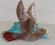 Owl pin/pendant by Harlan Coonsis