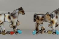 Horse pin/pendant by E. Leekity