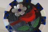 Cardinal  pin/pendant by R&N Laconsello