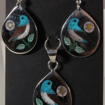 Hummer Earring and pendant by R&N Laconsello