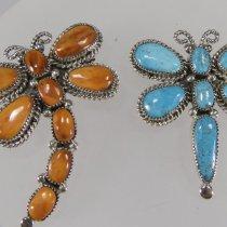 Pin/pendants by Diane Lonjose